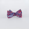 Liberty Prints 40 Red - Bow Tie