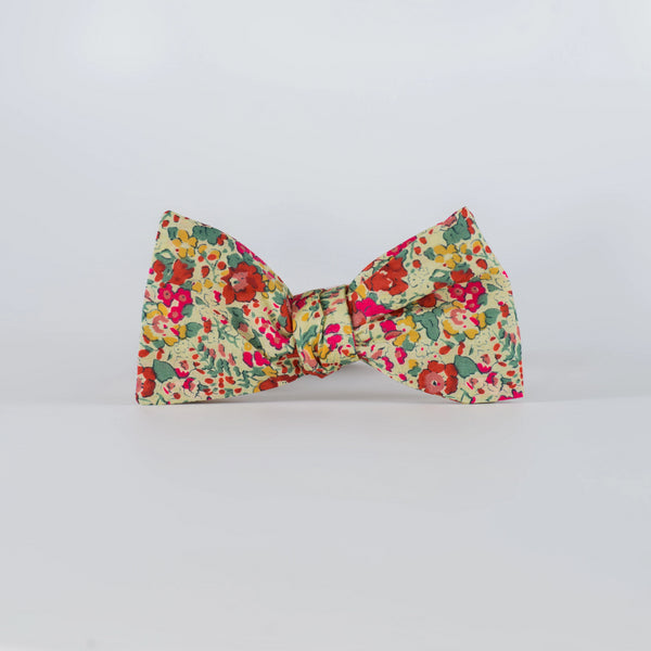 Liberty Prints 40 Yellow - Bow Tie
