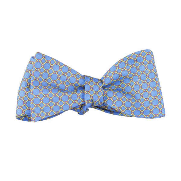 Linked Squares - Print Bow Tie