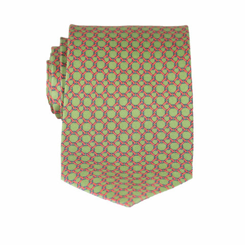 Linked Squares - Print Regular Tie