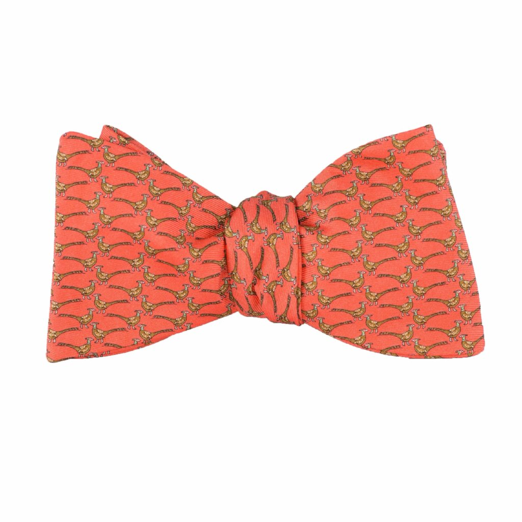 26843365de73 Pheasants - Print Bow Tie – Peter-Blair Accessories