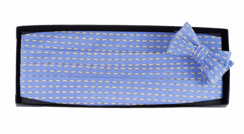 Retriever - Print Cummerbund Set