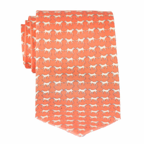 Retriever - Print Extra Long Tie