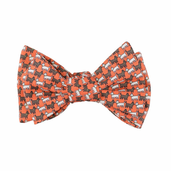 Scotties - Print Bow Tie