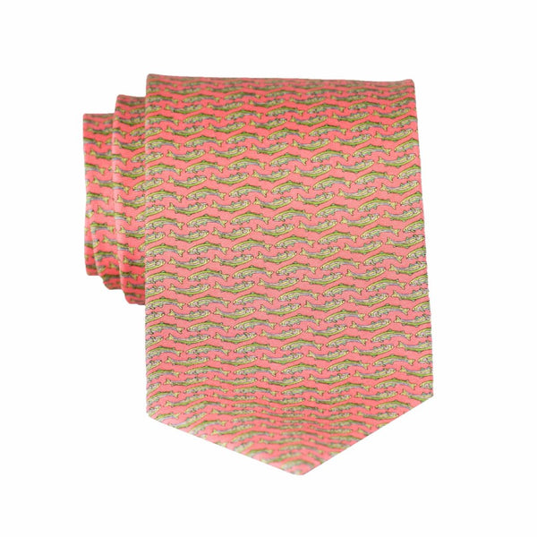 Trout - Print Regular Tie