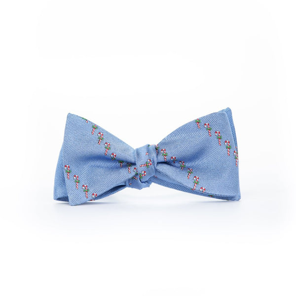 Candy Canes - Woven Bow Tie