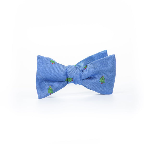 Christmas Trees - Woven Bow Tie