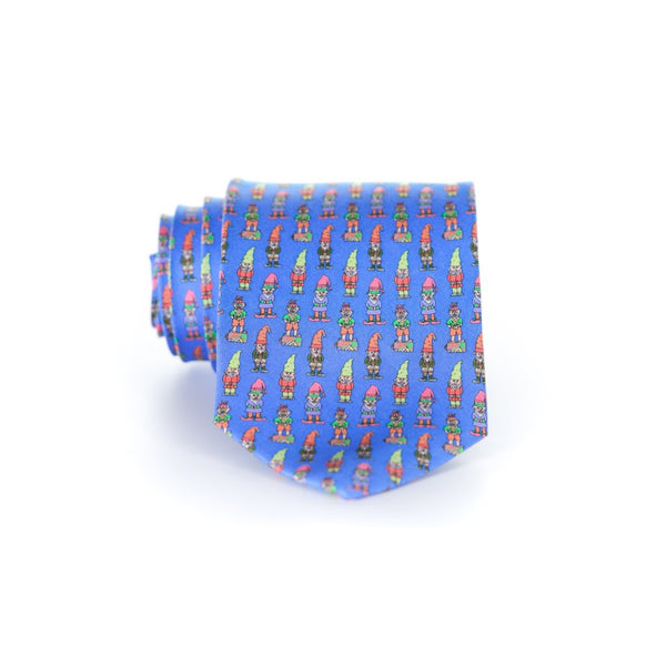 Gnomes - Print Regular Tie