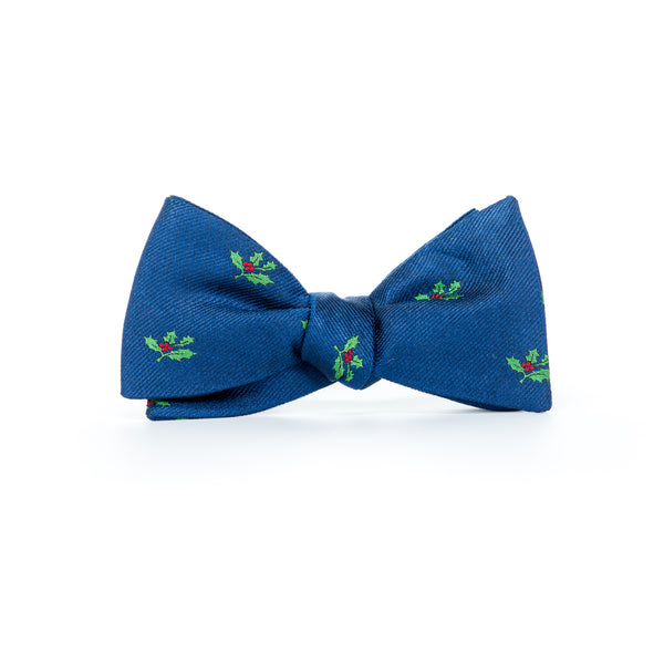 Holly - Woven Bow Tie