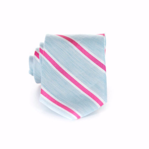 Allison - Linen Woven Regular Tie