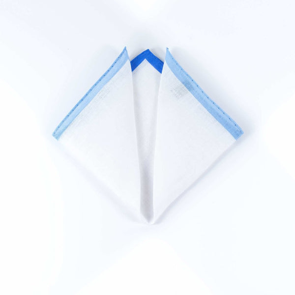 Borders Linen - Pocket Square