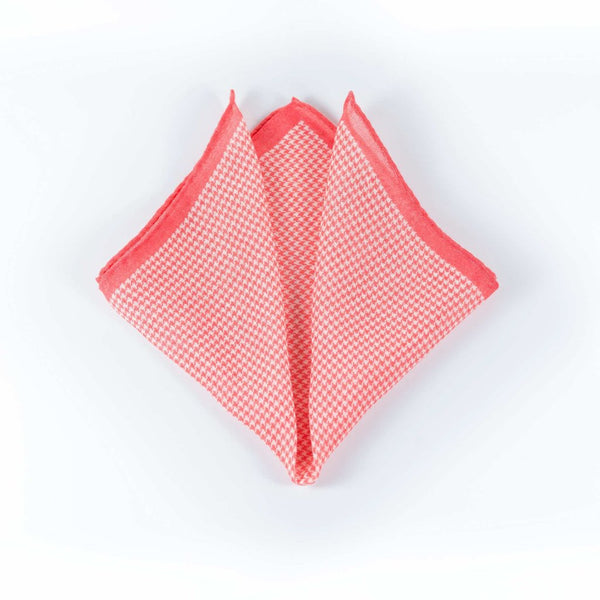 Checks Silk/Wool - Pocket Square