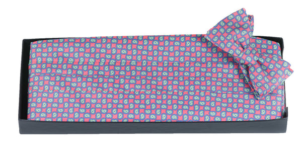 Clay - Print Cummerbund Set