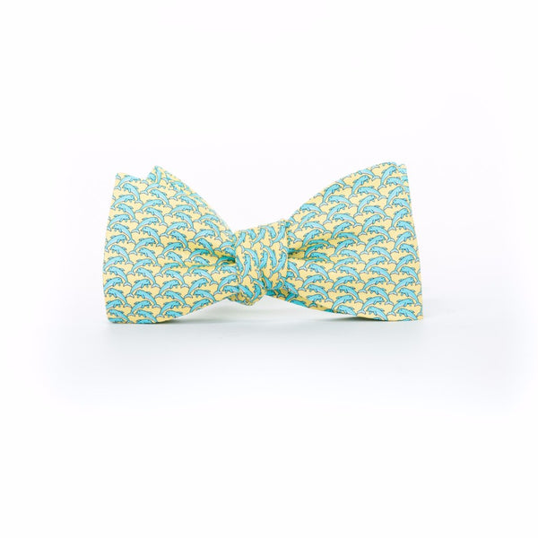 Dolphins - Print Bow Tie