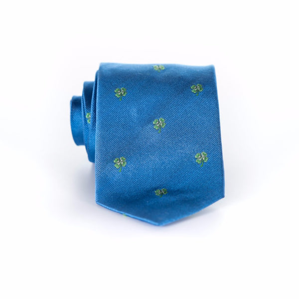 Four Leaf - Woven Regular Tie