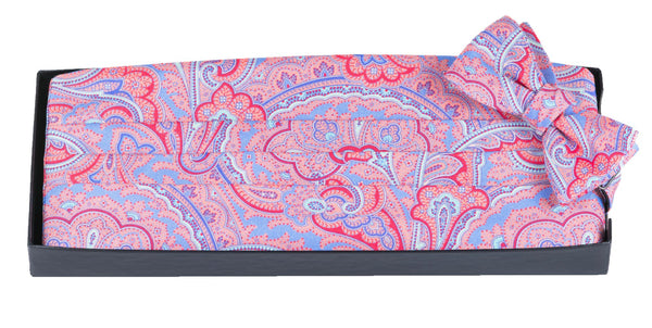 Laurel - Print Cummerbund Set