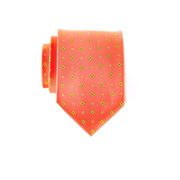 Dot Dash- Print Regular Tie