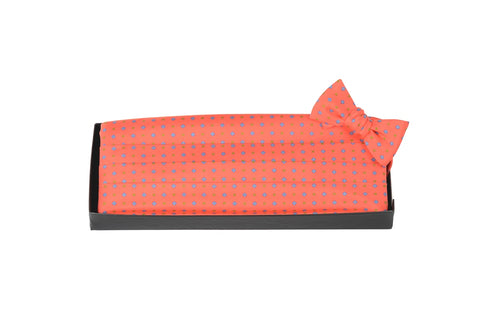 Dot Dash - Print Cummerbund Set