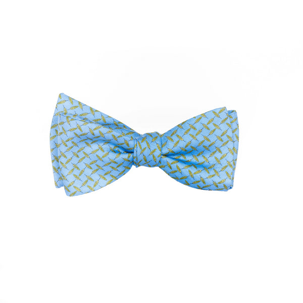 Feathers - Print Bow Tie