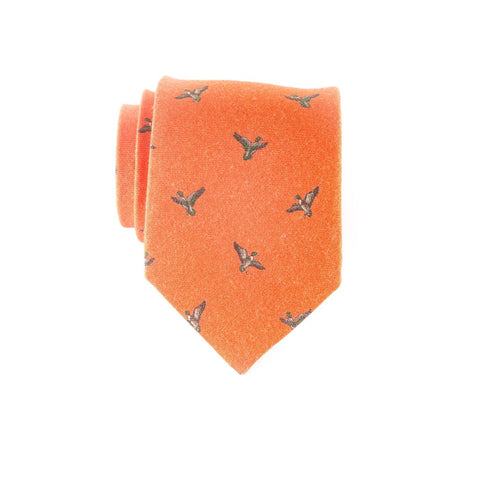 Flying Mallards - Print Regular Tie