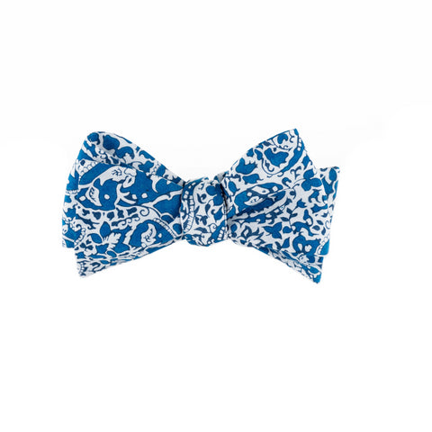 Liberty Prints 43 Blue - Bow Tie