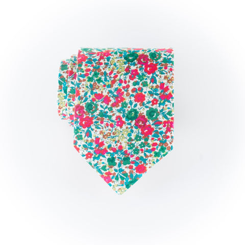 Liberty Prints 43 Pink - Regular Tie