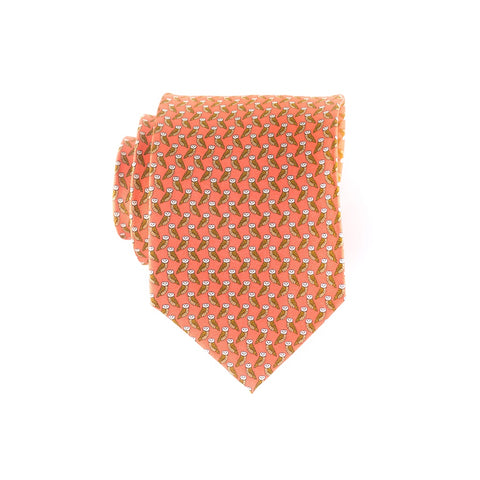 Owls - Print Regular Tie