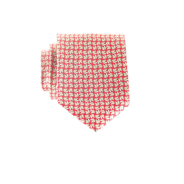 Squirrels- Print Regular Tie