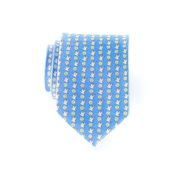 12 Gauge Mallards - Print Regular Tie