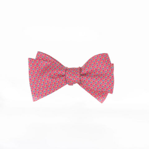 Anchored In - Print Bow Tie