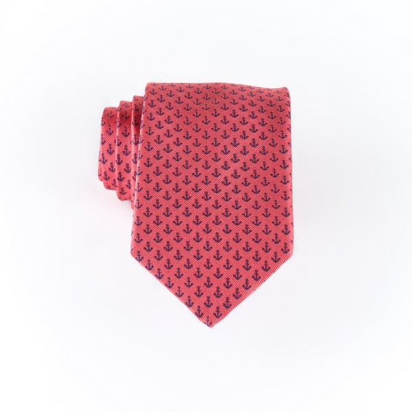 Anchor - Woven Extra Long Tie