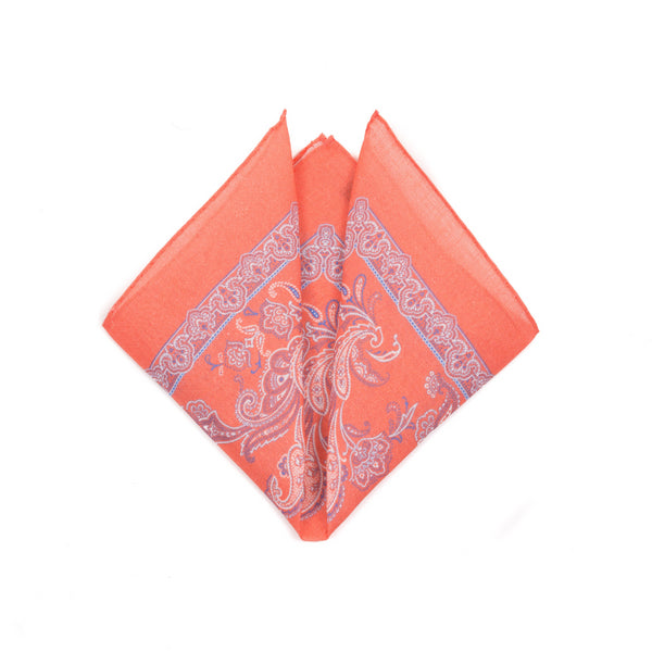 Elbow Beach Linen - Pocket Square