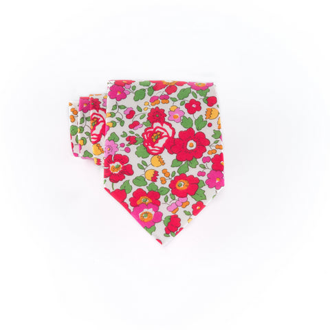 Liberty Prints 45 Red - Regular Tie