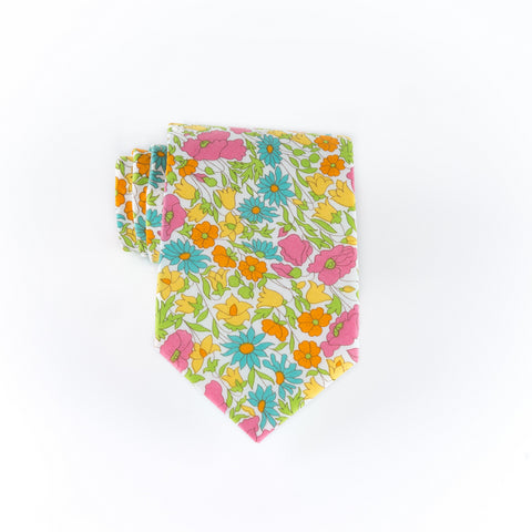 Liberty Prints 45 Yellow - Regular Tie