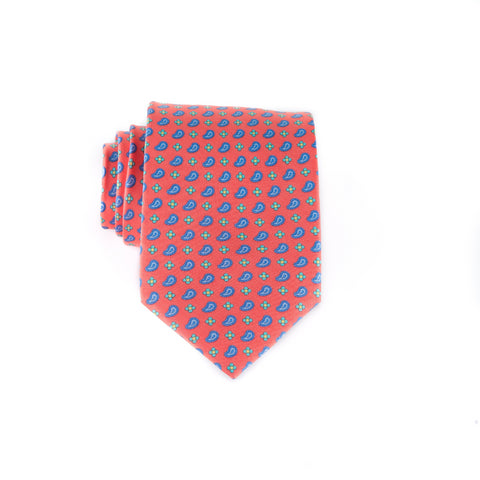 Neat Pines - Print Extra Long Tie
