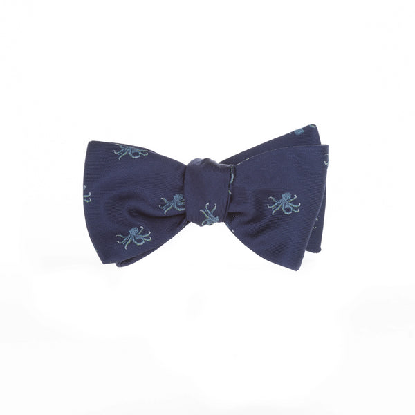 Octopus - Woven Bow Tie