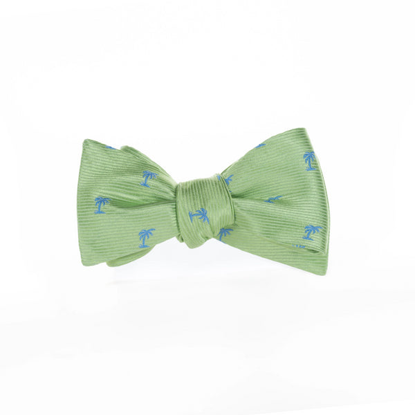 Palms - Woven Bow Tie