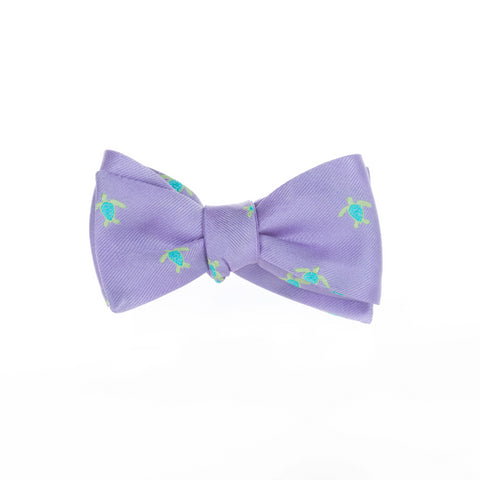 Turtles - Woven Bow Tie