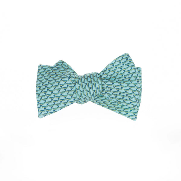 Whales - Print Bow Tie
