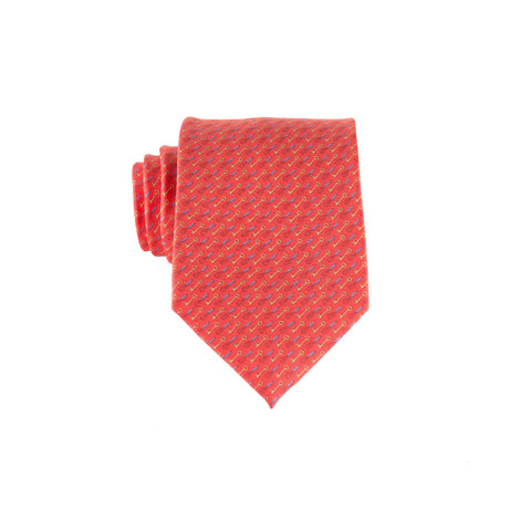 Whisk Key - Print Extra Long Tie