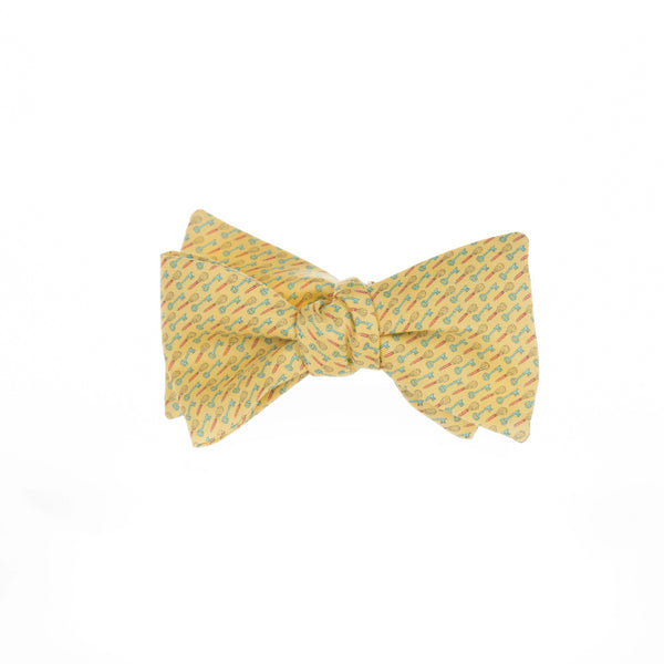 Whisk Key - Print Bow Tie