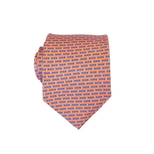 Corkscrew - Print Extra Long Tie