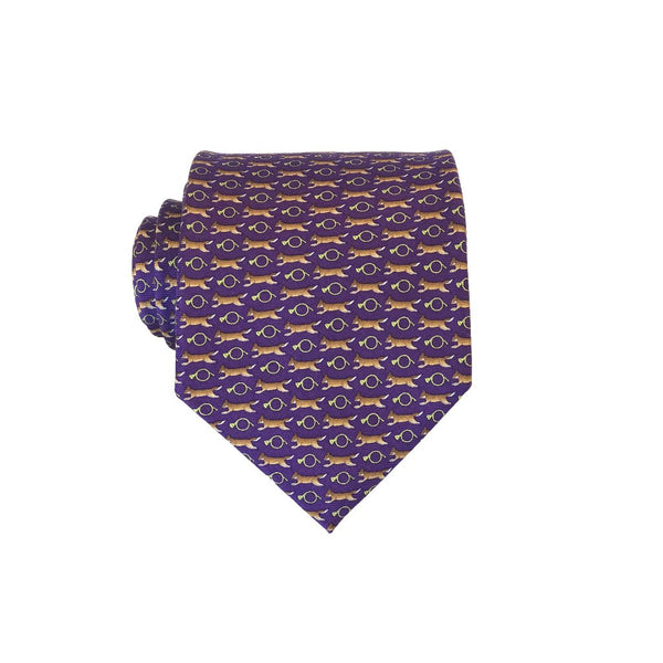 Fox Chase - Print Regular Tie