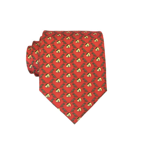 In the Doghouse - Print Boys Tie