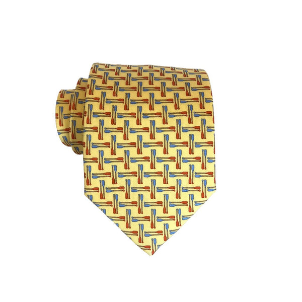 Paddles- Print Regular Tie