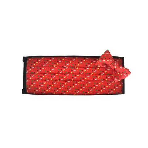 Slots of Luck - Print Cummerbund Set