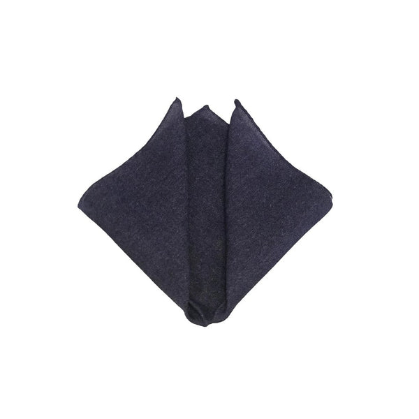 Solid Wool - Cashmere Pocket Square