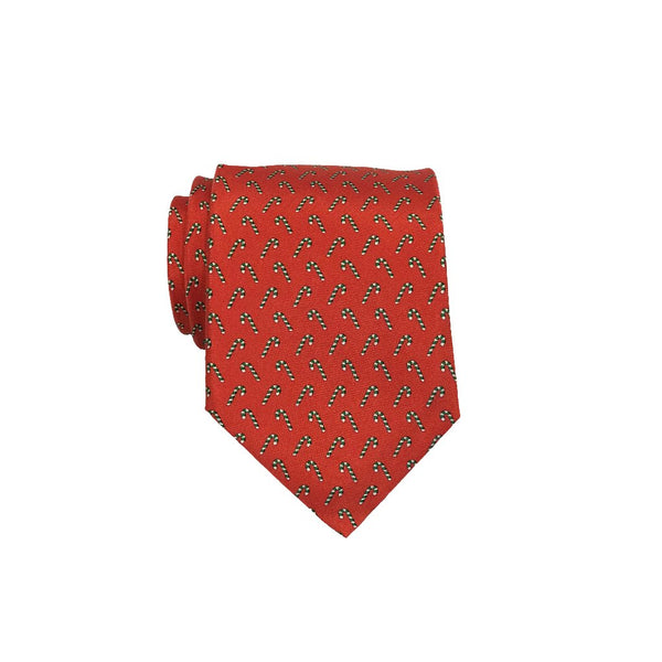 Candy Canes - Print Regular Tie