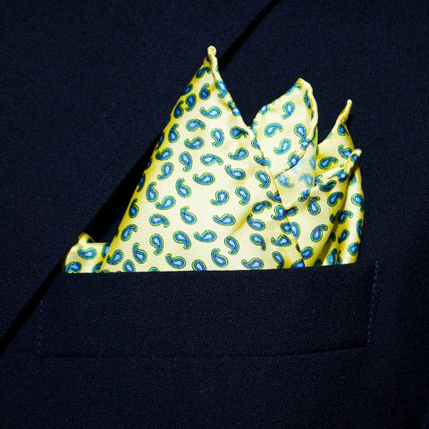 New Pine - Pocket Square