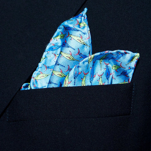 Swordfish - Pocket Square